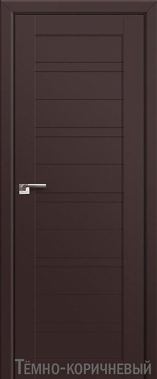 Дверь м/к 7 U Темно-коричневый