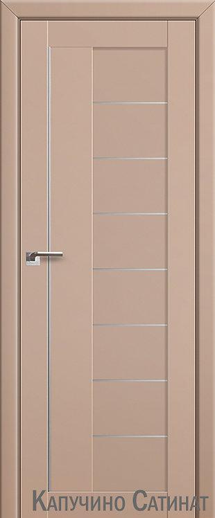 Дверь м/к 17 U Капучино сатинат