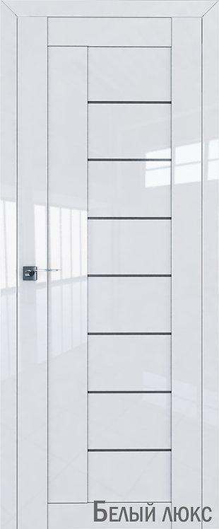 Дверь м/к 17 L Белый глянец