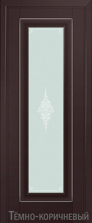 Дверь м/к 24 U Темно-коричневый