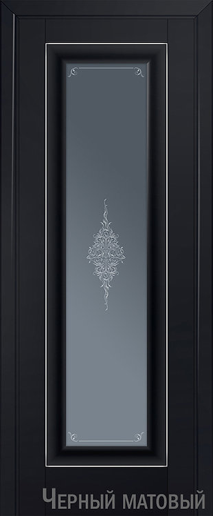 Дверь м/к 24 U Черный матовый