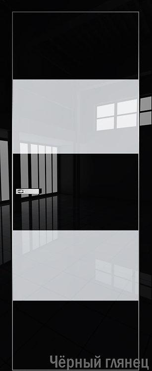 Дверь м/к 2VG Черный глянец