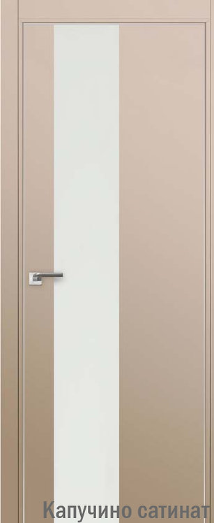 Дверь м/к 5 E Капучино сатинат