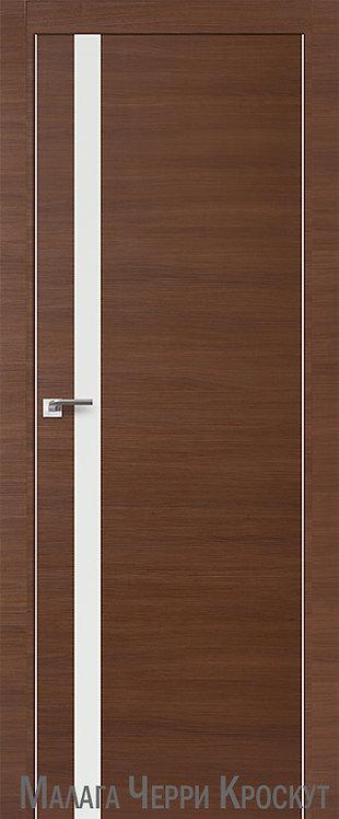 Дверь м/к 6 Z Малага Черри Кроскут