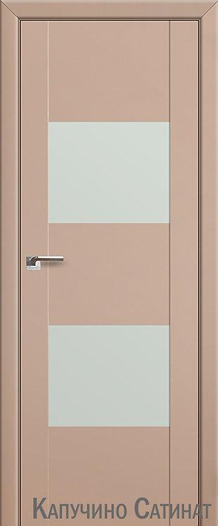 Дверь м/к 21 U Капучино сатинат