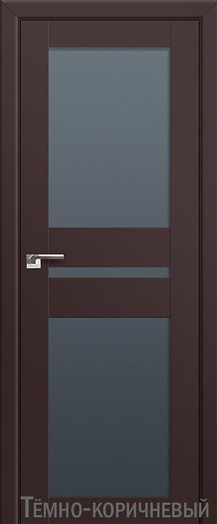 Дверь м/к 70 U Темно-коричневый