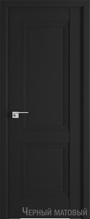 Дверь м/к 80 U Черный матовый