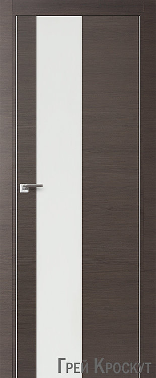 Дверь м/к 5 Z Грей Кроскут