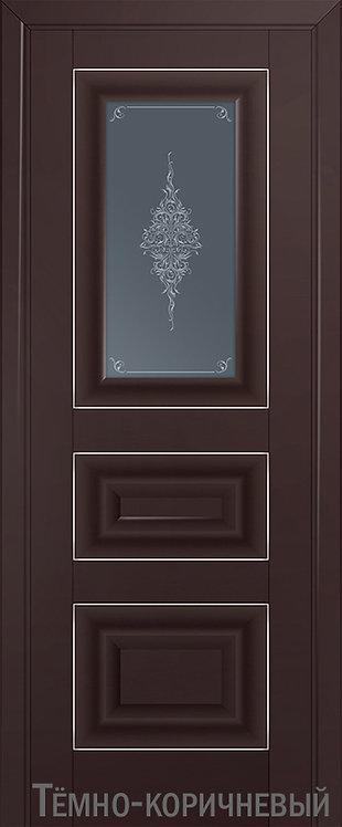Дверь м/к 26 U Темно-коричневый