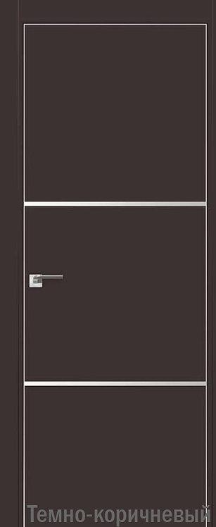 Дверь м/к 2 E Темно-коричневый