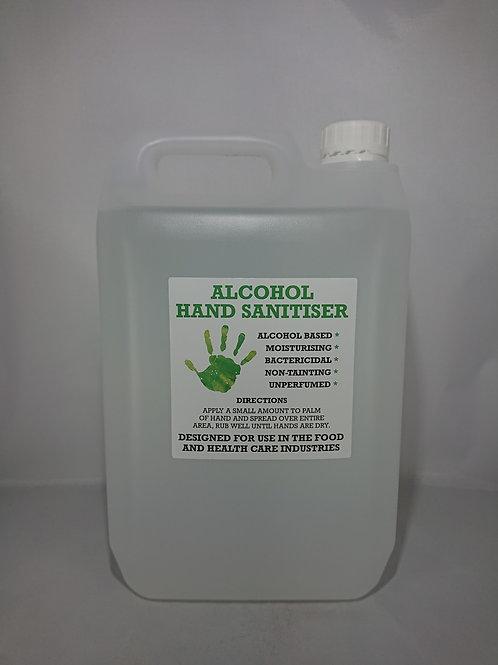5 Litre Hand Sanitising Gel (75% Alcohol)