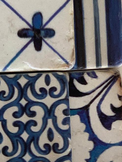 Coasters Blue Tones