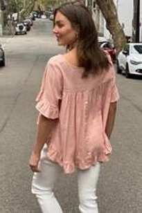 SPICY SUGAR - Ruffle Blouse