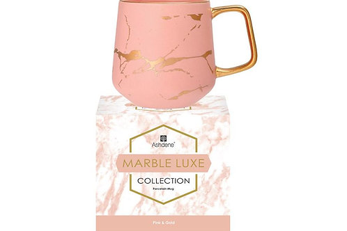 Marble Luxe Mugs - Pink & Gold