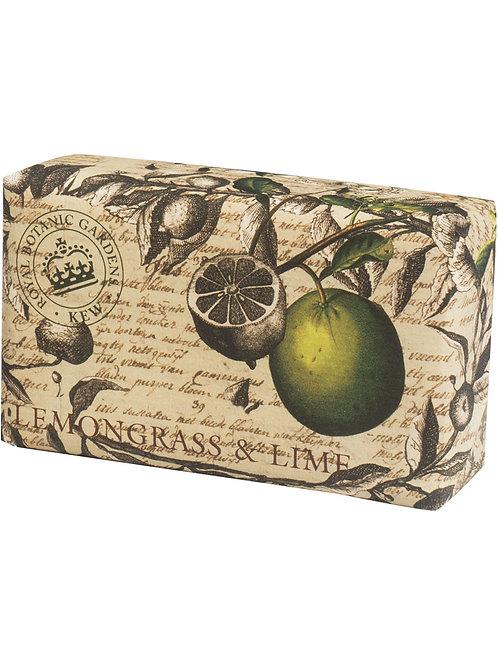 Kew Royal Botanic  - Lemongrass & Lime Luxury Soap