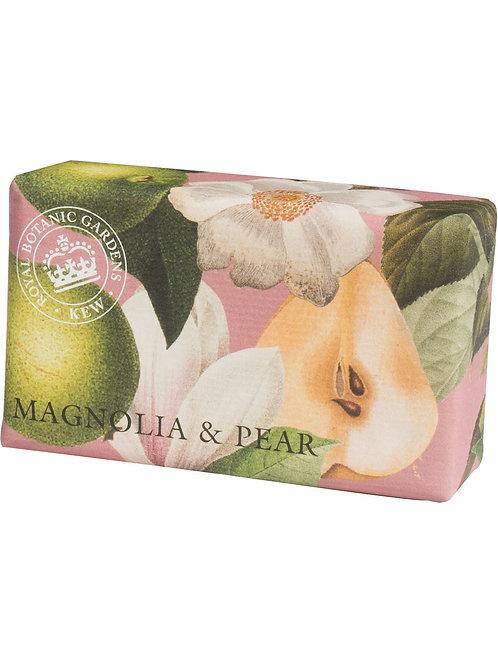 Kew Royal Botanic  - Magnolia & Pear Luxury Soap