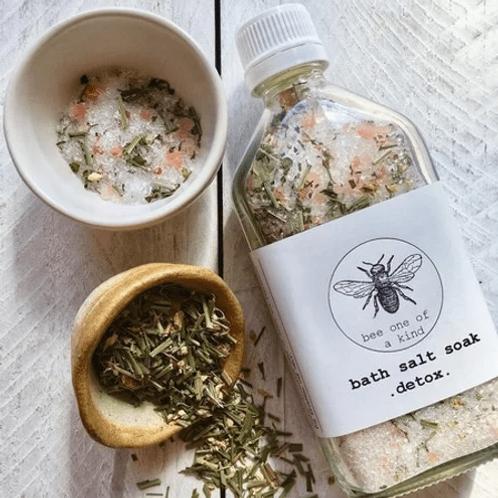 BEE ONE OF A KIND - Bath Salts Detox