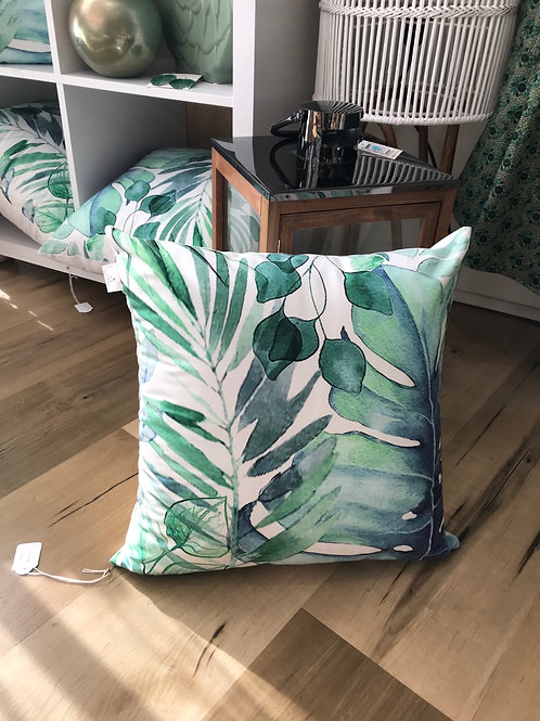 Leaf Velvet Cushion 40x40cm