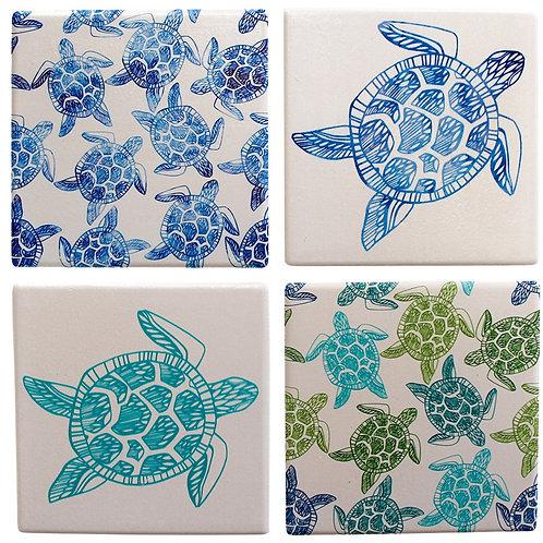 Turtle Bay Coasters
