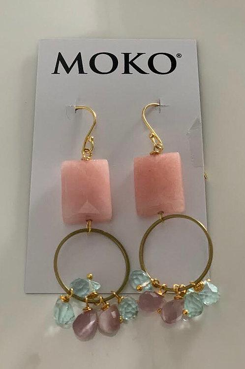 MOKO JEWELLERY - Earrings (Watermelon)
