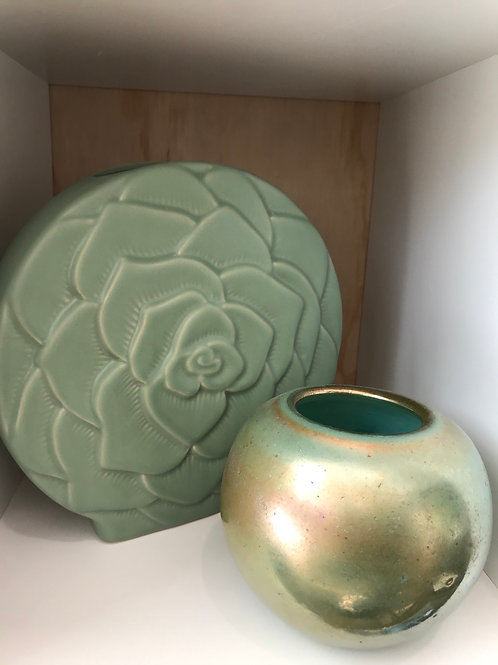 Turquoise Sphere Vase small