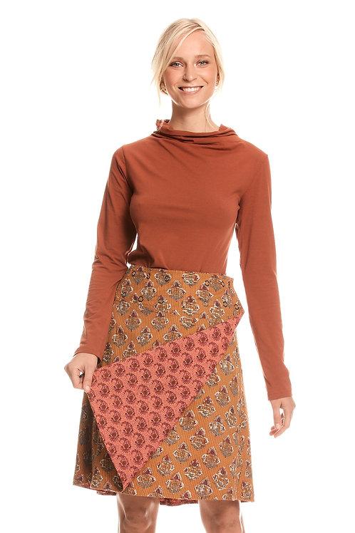Jaya Reversible Skirt - Neem and Clover Musk
