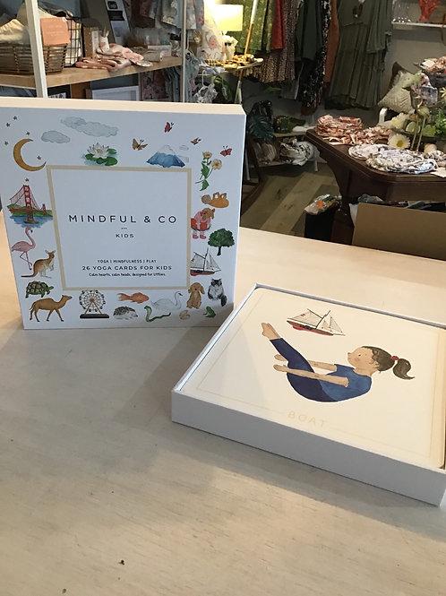 Mindful & Co Kids Yoga Cards