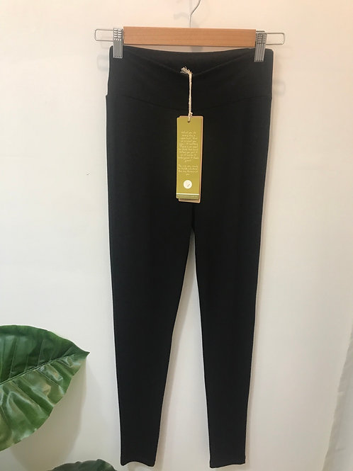 Bamboo Body - Black Legging