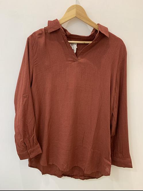 SPICY SUGAR - Rust Shirt