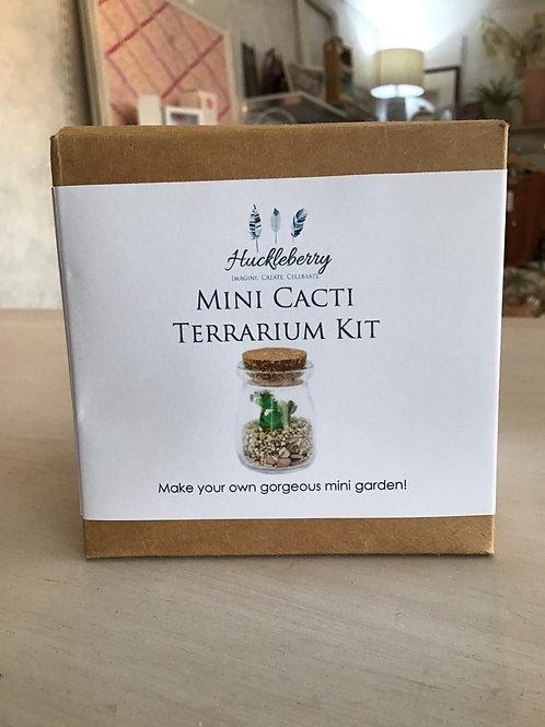 Mini Cacti Terrarium Kit