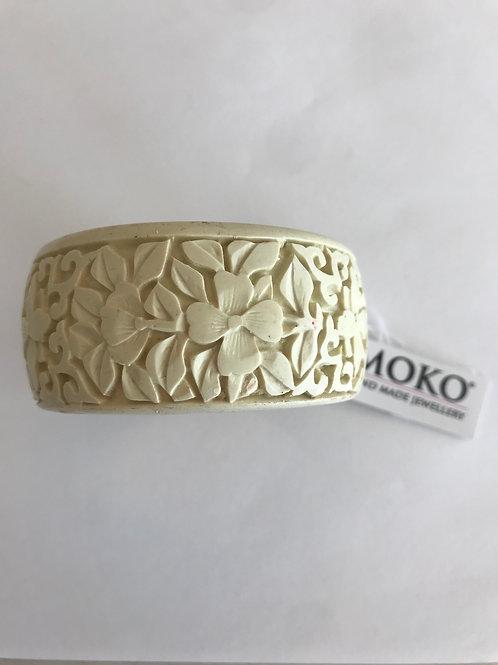 Floral Lacquer Bracelet