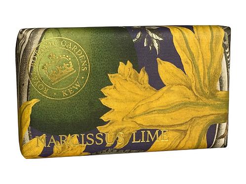 Kew Royal Botanic  - Narcissus Lime Luxury Soap