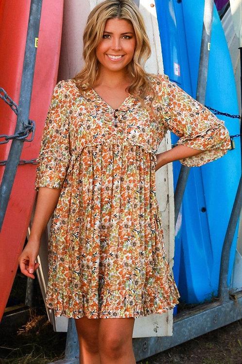 ISABELLA BOHO Dress - Joanna Midi