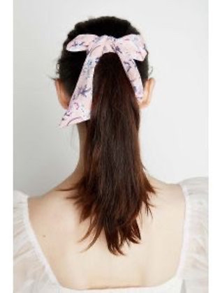 ANGEL WISHES - Hair Scrunchie (Blue or Pink) with Tie