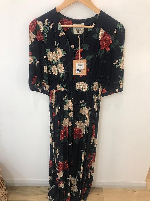 Josie Dress Floral Medium Sleeve