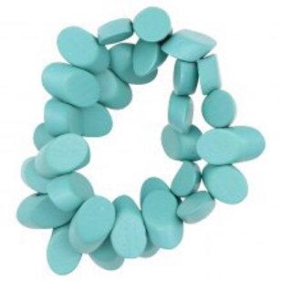 ENHANCE ACCESSORIES - Turquoise Bracelet