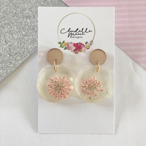 CHRISTELLE MARIE - Queen's Lace Earrings