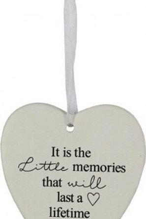LAVIDA Hanging Heart - Little Memories...