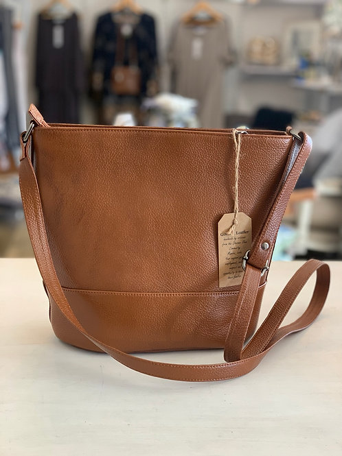 COLABA and Co Leather Bag