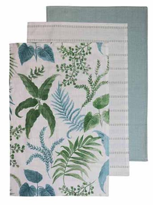 Botanica Aqua Green Tea Towel