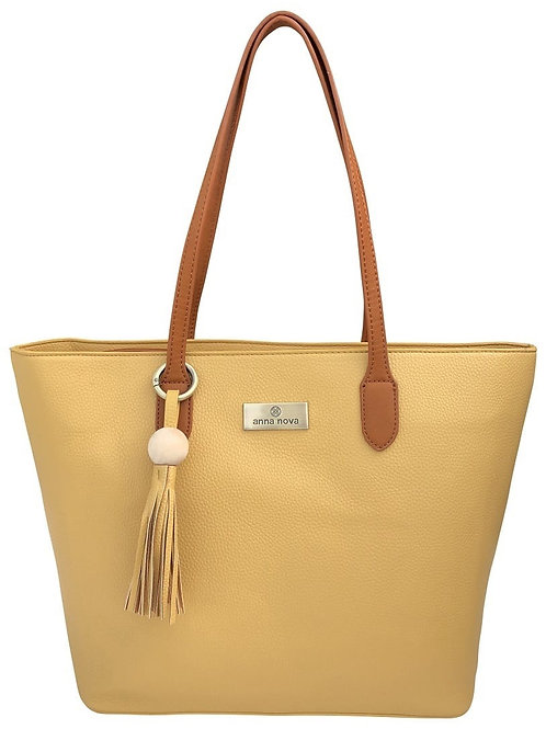 ANNA NOVA - Tote Bag (mustard yellow)