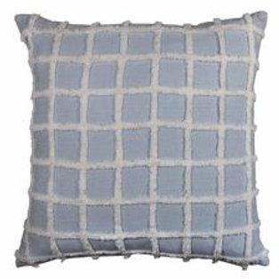 Bronte Blue Chambray Cushion