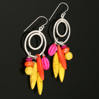 MOKO Triple Plated Multi Earrings