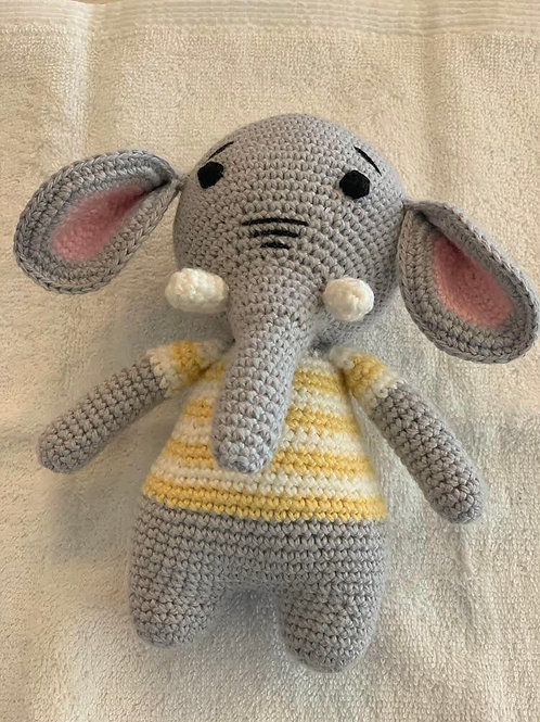 TOYS - Edward the Elephant (yellow)