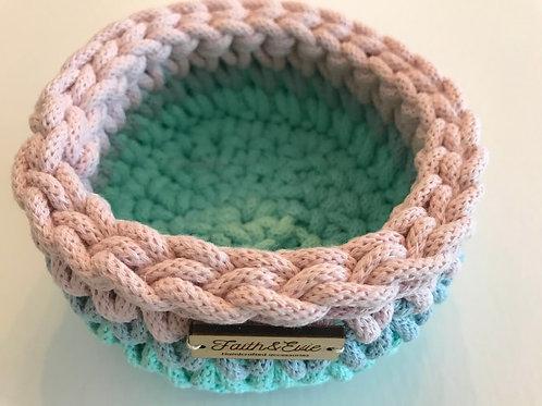 FAITH AND EVIE - Crochet Basket (small)
