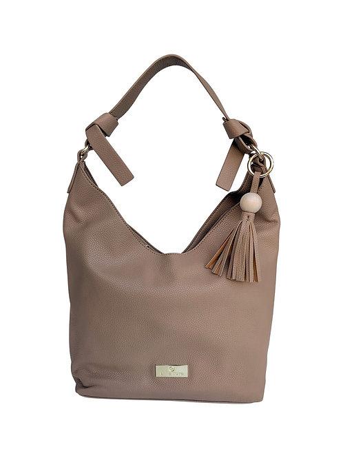 ANNA NOVA - Tropicana Hobo Bag - Latte