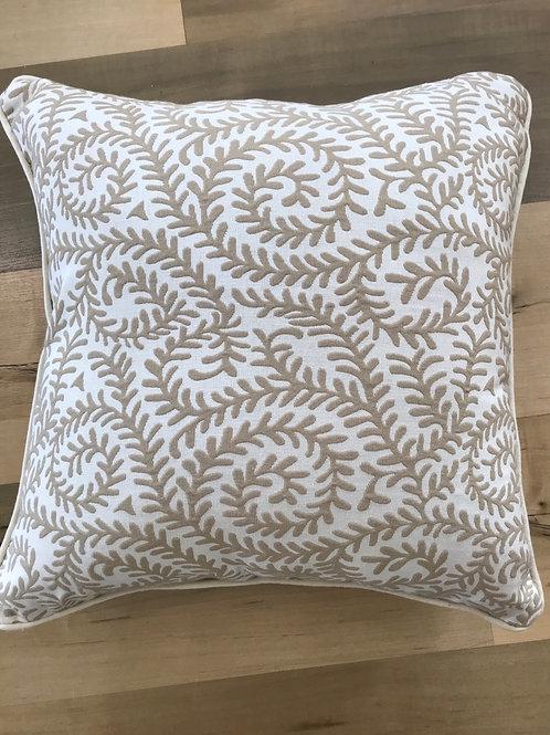 Cream Coral Cushion