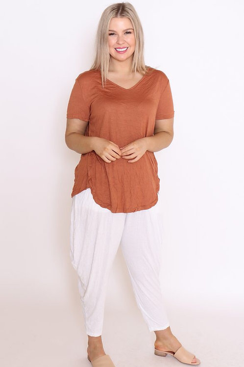 COTTON VILLAGE  - Shirt (pink, rust or white)