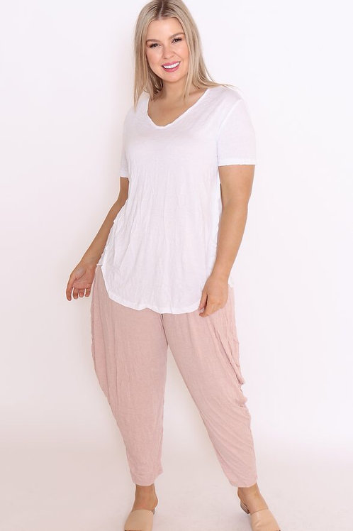COTTON VILLAGE - Pants (pink or rust)