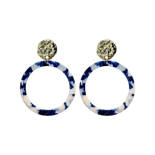 ANNA NOVA - Earrings (blue)